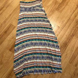 Dresses & Skirts - Tribal maxi skirt